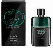 GUCCI  GUILTY BLACK POUR HOMME EDT 50