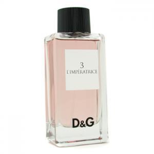 Женская парфюмерия DOLCE & GABBANA DOLCE&GABBANA №3 L'IMPERATRICE
