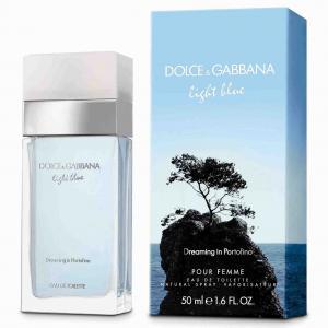 Женская парфюмерия DOLCE & GABBANA DOLCE&GABBANA LIGHT BLUE Dreaming in Portofino