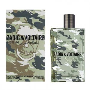 Мужская парфюмерия ZADIG & VOLTAIRE ZADIG & VOLTAIRE THIS IS HIM! NO RULES